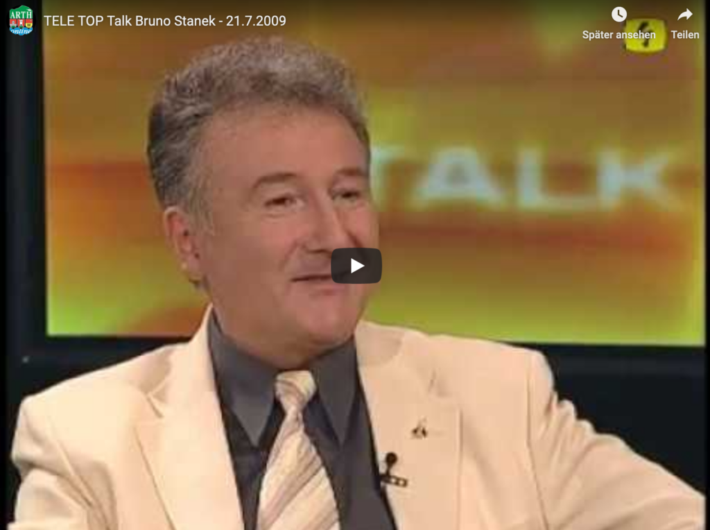 TELE TOP Talk Bruno Stanek