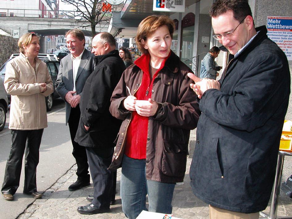 FDP-Kantonsratskandidaten mischen sich unters Volk