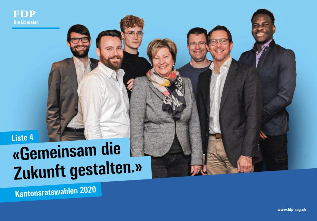 FDP: «Gemeinsam die Zukunft gestalten»