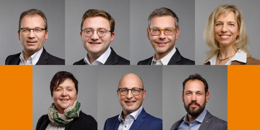 CVP: 7 Persönlichkeiten mit Format am 22. März in den Kantonsrat