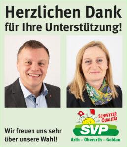 Die SVP gratuliert, dankt und hilft