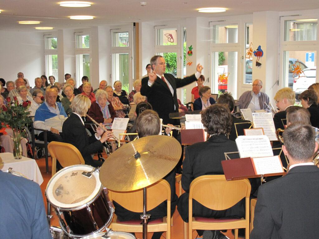 Der Musikverein Goldau im Alterszentrum Mythenpark