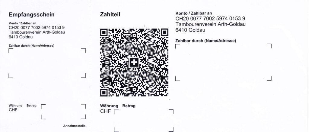 Liebe Gönner und Freunde des Tambourenvereins Arth-Goldau