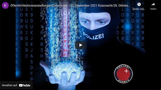 Kapo Schwyz: Informationsveranstaltungen zum Thema Cybercrime